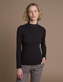 Alef Alef | אלף אלף - בגדי מעצבים | חולצת Bona שחור