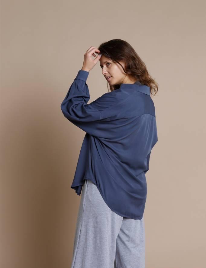 Alef Alef | אלף אלף - בגדי מעצבים | חולצת Table כחול בהיר