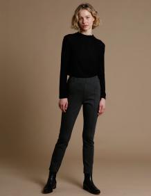 Alef Alef | אלף אלף - בגדי מעצבים | מכנסי Tate אפור