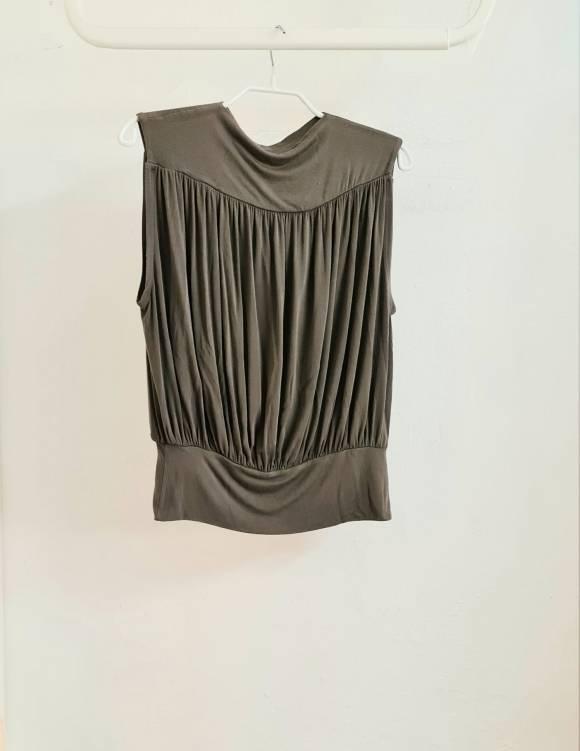 Alef Alef | אלף אלף - בגדי מעצבים | חולצת Gafni אפור כהה