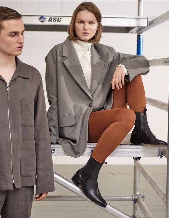 Alef Alef | אלף אלף - בגדי מעצבים | נעלי Blake |  Act //שחור