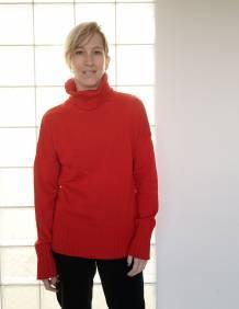 Alef Alef | אלף אלף - בגדי מעצבים | סוודר Ararat אדום