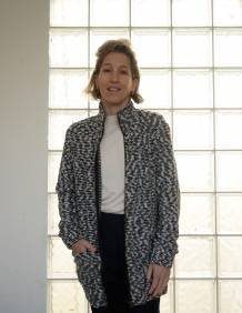 Alef Alef | אלף אלף - בגדי מעצבים | עליונית PARRY שחור לבן