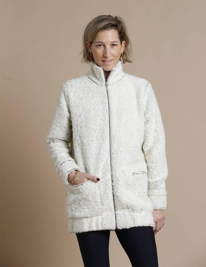 Alef Alef | אלף אלף - בגדי מעצבים | עליונית PARRY שמנת