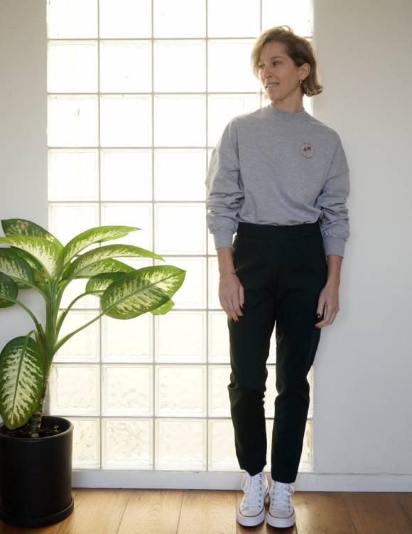 Alef Alef | אלף אלף - בגדי מעצבים | מכנסי Rocky ירוק בקבוק