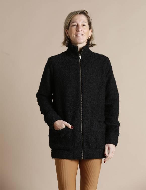 Alef Alef | אלף אלף - בגדי מעצבים | עליונית PARRY שחור