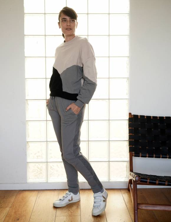 Alef Alef | אלף אלף - בגדי מעצבים | מכנסי KUNA אקליפטוס