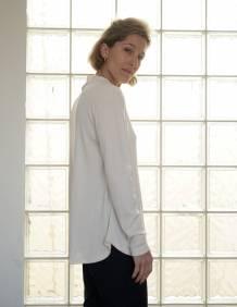 Alef Alef | אלף אלף - בגדי מעצבים | חולצת Saana | שמנת ריב