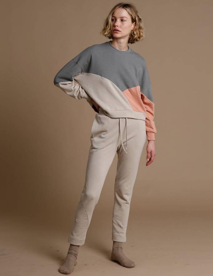 Alef Alef | אלף אלף - בגדי מעצבים | מכנסי KUNA אבן