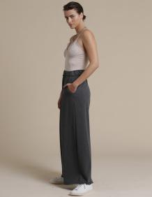Alef Alef   אלף אלף - בגדי מעצבים   מכנסי Roy אפור כהה
