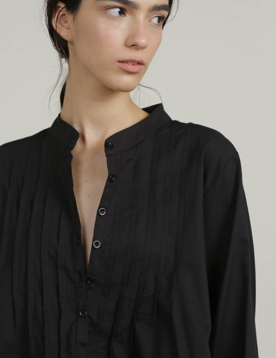 Alef Alef | אלף אלף - בגדי מעצבים | גלביה ILI שחור