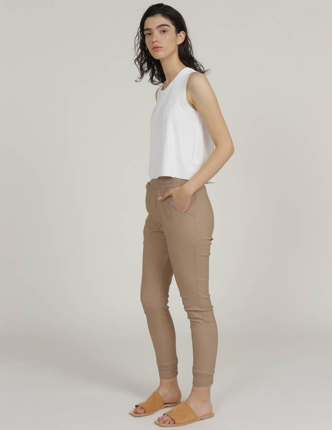 Alef Alef | אלף אלף - בגדי מעצבים | מכנסי MARE קאמל