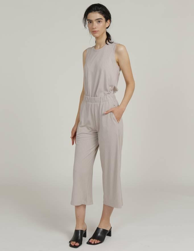 Alef Alef | אלף אלף - בגדי מעצבים | מכנסי KAI בז