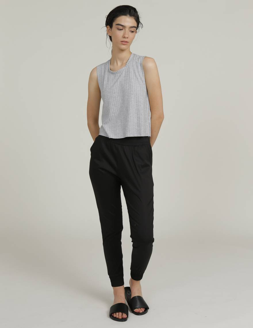 Alef Alef | אלף אלף - בגדי מעצבים | מכנסי MARE שחור