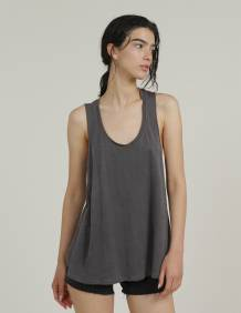 Alef Alef | אלף אלף - בגדי מעצבים | גופית ZOE אפור כהה