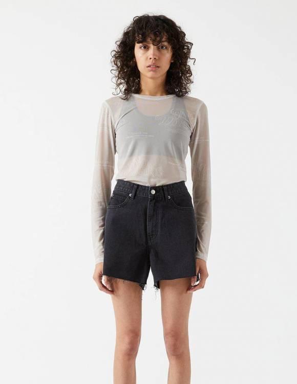 Alef Alef | אלף אלף - בגדי מעצבים | Nora Shorts | Charcoal Black