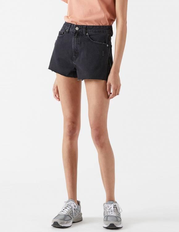 Alef Alef | אלף אלף - בגדי מעצבים | Skye Shorts | Charcoal Black
