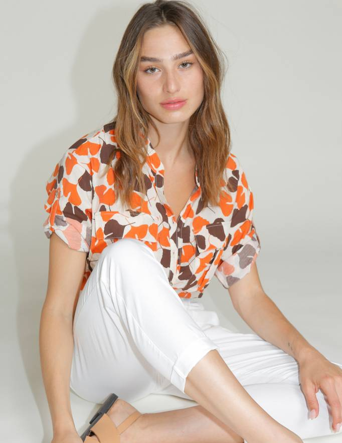Alef Alef | אלף אלף - בגדי מעצבים | חולצת NERO הדפס