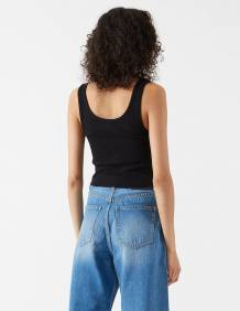 Alef Alef | אלף אלף - בגדי מעצבים | Maxida Top | Black