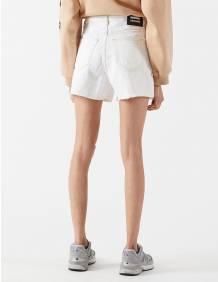 Alef Alef | אלף אלף - בגדי מעצבים | Nora Shorts | Light Ecru