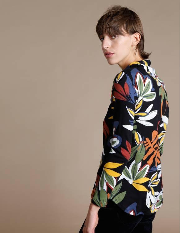 Alef Alef | אלף אלף - בגדי מעצבים | חולצת Saana דפוס פרחים