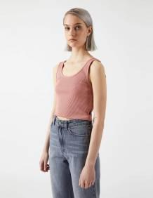 Alef Alef | אלף אלף - בגדי מעצבים | Maxida Top | Terracotta