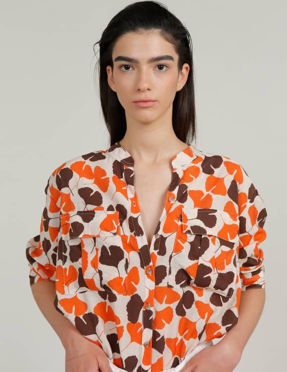 Alef Alef   אלף אלף - בגדי מעצבים   חולצת NERO הדפס