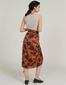 Alef Alef | אלף אלף - בגדי מעצבים | חצאית TAIYHO פרחים