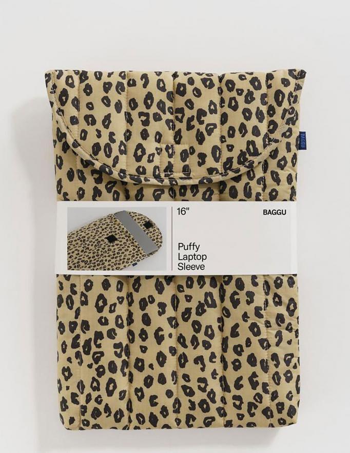 Alef Alef | אלף אלף - בגדי מעצבים | כיסוי ללפטופ 16 // Baggu מנומר