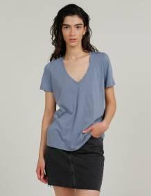 Alef Alef | אלף אלף - בגדי מעצבים | חולצת MERAKI כחול