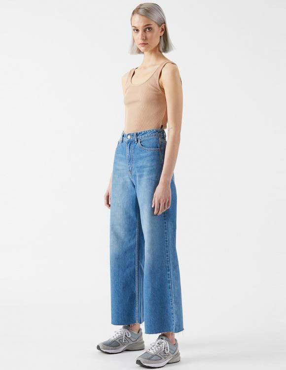 Alef Alef | אלף אלף - בגדי מעצבים | Aiko Cropped | Empress Blue