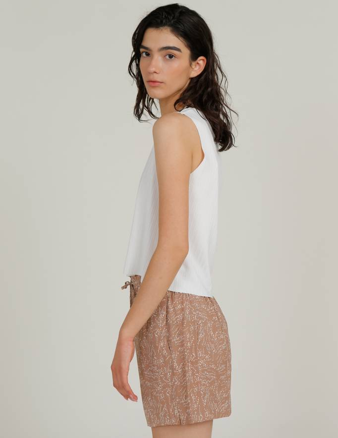 Alef Alef | אלף אלף - בגדי מעצבים | מכנס GORDON פודרה דפוס
