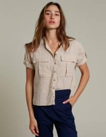 Alef Alef | אלף אלף - בגדי מעצבים | חולצת NERO אופייט