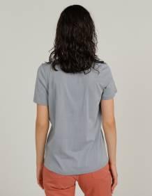 Alef Alef | אלף אלף - בגדי מעצבים | חולצת MERAKI תכלת