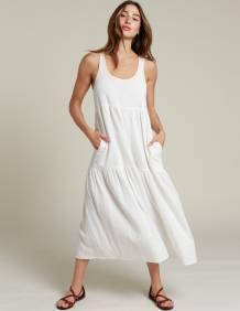 Alef Alef | אלף אלף - בגדי מעצבים | שמלת NIA שמנת
