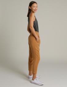 Alef Alef | אלף אלף - בגדי מעצבים | מכנסי GAIA קאמל