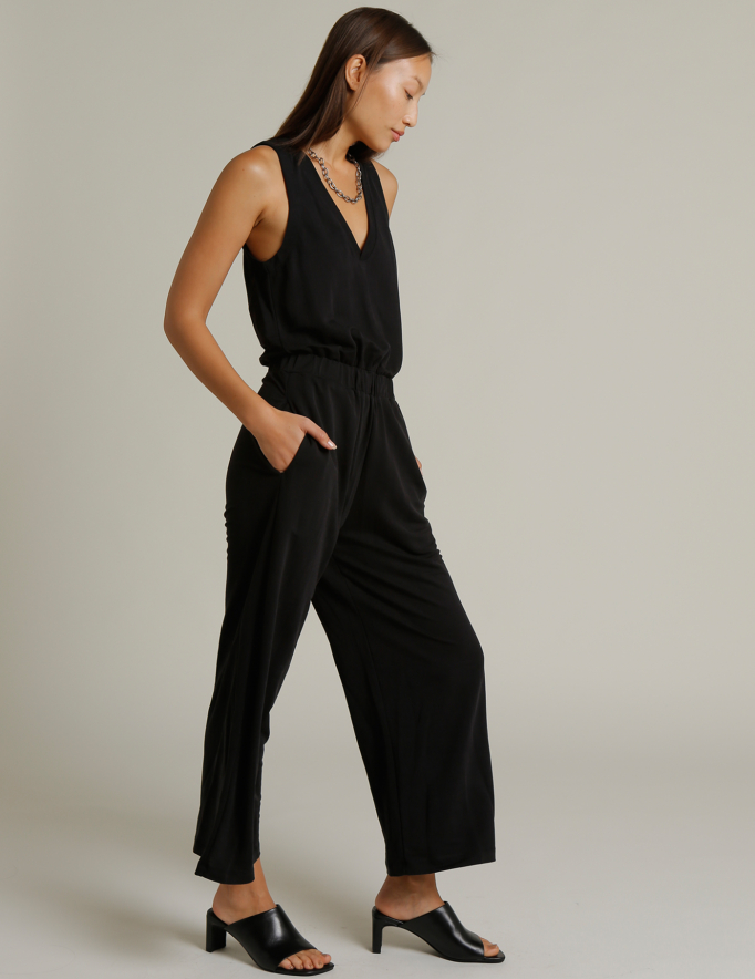 Alef Alef | אלף אלף - בגדי מעצבים | אוברול SUN שחור