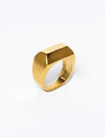 Alef Alef | אלף אלף - בגדי מעצבים | טבעת סרקופג זהב