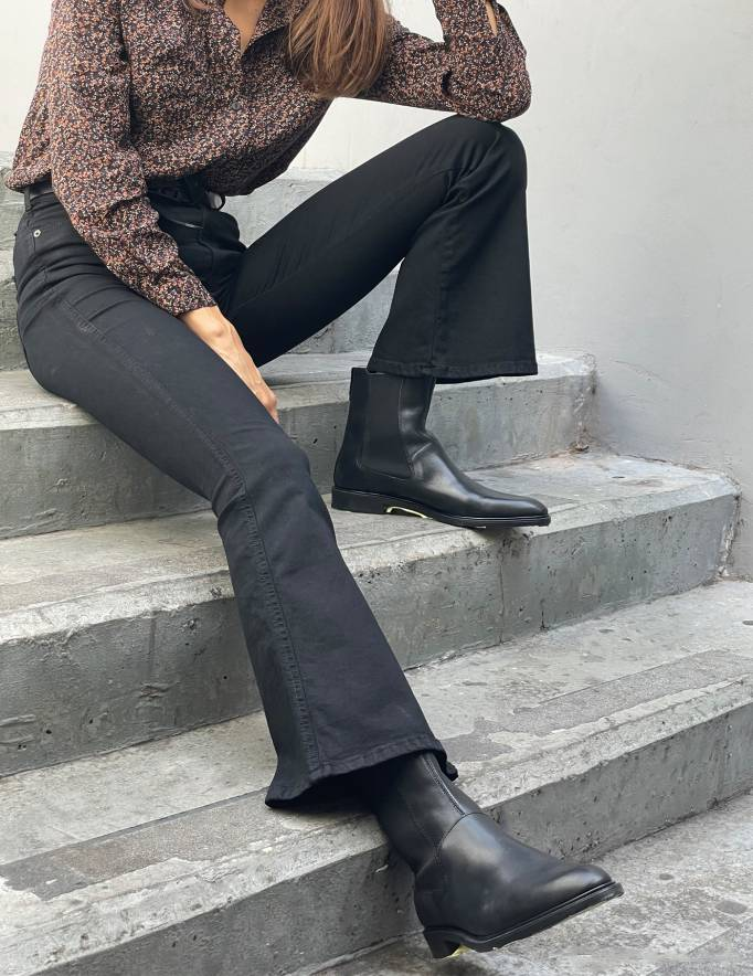 Alef Alef | אלף אלף - בגדי מעצבים | MOXY FLARE  שחור