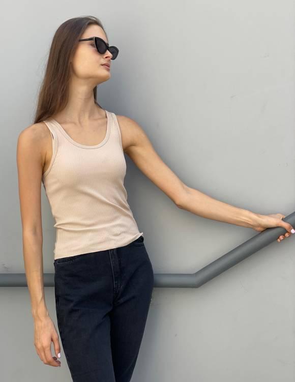 Alef Alef   אלף אלף - בגדי מעצבים   Demi Top ניוד