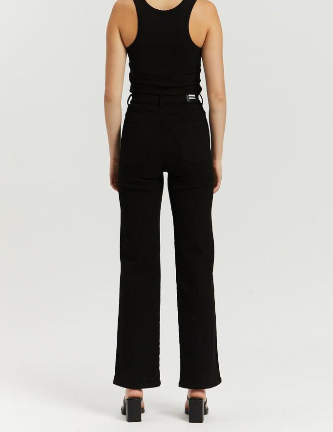 Alef Alef   אלף אלף - בגדי מעצבים   Moxy Straight - Solid Black
